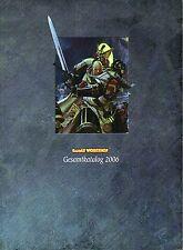 GAMES WORKSHOP-Gesamtkatalog 2006-für Tabletop und Roleplaying Games-RPG-rar