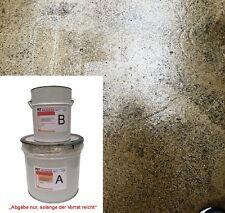 3 kg 2K-Epoxidharz Bodenbeschichtung, TRANSPARENT für Estrich, Garage, Keller