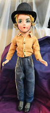Amazing Lady Boudoir Doll Rare 27� Ringmaster 1920s Excellent Cond Composition