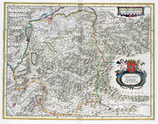 Reproduction carte ancienne - Duché de Savoie 1663