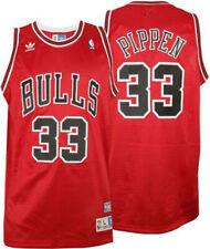 PIPPEN CAMISETA DE LA NBA DE LOS BULLS ROJA. TALLA S,L.