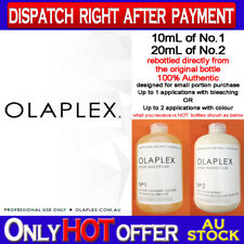 Re-Bottled OLAPLEX 10ml NO.1 + 20ml NO.2 100% AUTHENTIC Directly Step 1 & 2