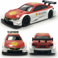 1:43 BMW M4 Motorsport DTM Racing Car Model Diecast Toy Vehicle Pull Back Kids
