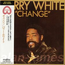 Barry White CHANGE 1982/1996 Unlimited Gold /Meldac JAPAN CD MLPS OSR OOP RARE