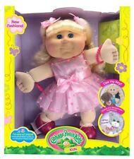 "Cabbage Patch Kids Blonde Kid Pink Heart Dress Fashion Baby Doll, 14"" BNIB"