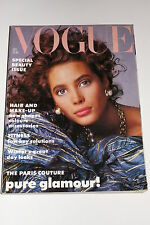 Vogue Magazine October 1986, Paris Couture/Romeo Gigli/Doris Saatchi/Fashion