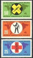 Germany 1963 Medical/Health/Malaria/Red Cross/Welfare/Mosquito/Insects 3v n29536