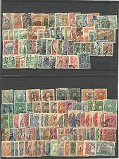 Mexico. 2 fichas con 132 sellos nuevos o usados