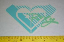 VTG 90's HUGE ROXY HAWAII BEACH GIRL HEART SURF SURFING SKATEBOARD NOS STICKER !