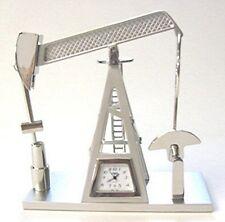 MINIATURE OIL PUMP JACK CLOCK