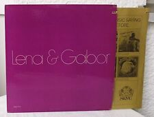 LENA HORNE & GABOR SZABO - Lena & Gabor   Skye LP