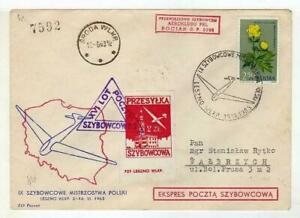 A1169) Poland Obtienes 1963 Cover Leszno Walbrzych