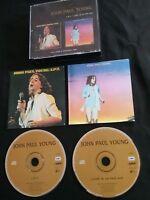 JOHN PAUL YOUNG LOVE IS IN THE AIR TWIN PACK CD  AUSTRALIA PRESS  ALBERT 8147682
