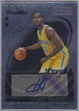 2006-07 Hilton Armstrong TOPPS TRADEMARK MOVES Autographed R/C S/N'd 01/35