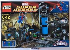 Lego Super Heroes 6873 Spider-Man's Doc Ock Ambush New in Factory Sealed Box