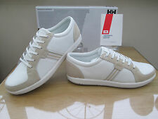 HELLY HANSEN KOSTER LS OFF WHITE CASUAL TRAINERS DECK SHOES  SIZE 8.5 EU 42.5