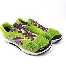 Reebok Crossfit Nano 2.0 Womens Size 9 Neon Green Athletic Fitness Shoes 1054156