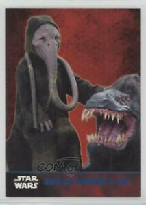 2015 Topps Star Wars: The Force Awakens Series 1 Gwellis Bagnoro & Izby #22 d4e