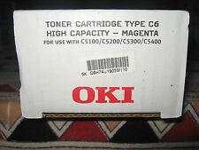 TONER OKI 42127406 TYP C6 MAGENTA C5100-C5200-C5300-C5400