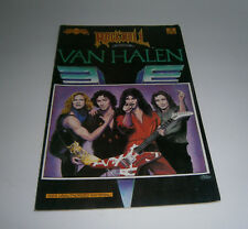 Vintage Rock n' Roll Comics Van Halen Issue #16  1990