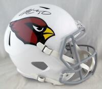 Kyler Murray Autographed Arizona Cardinals F/S Speed Helmet- Beckett W Auth *Blk