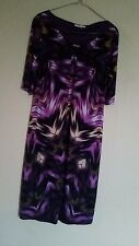 LONDON TIMES PURPLE  DRESS  SIZE 14