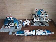 LEGO 6990 TRAIN MONORAIL AVEC GARES VEHICULE ET PERSONNAGES 1987