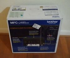 New in Box Brother MFC-J485DW Wireless All-in-one Inkjet Printer with OEM Inks