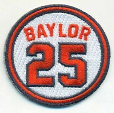 2017 Los Angeles Angels of Anaheim Don Baylor Memorial Jersey Patch