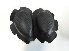 Knieschleifer Kneeslider 1 Set SBK Racing IDM rennerprobt, schwarz carbondesign