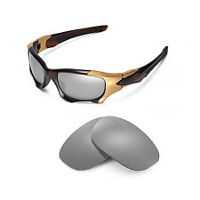 New Walleva Polarized Titanium Replacement Lenses For Oakley PIT BOSS II