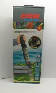 EHEIM QUICK VAC PRO. 3531 Battery Powered Vacuum Gravel Cleaner for Aquariums