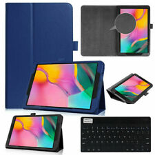 Navy For Samsung Galaxy Tab A 10.1 2019 SM-T510 T515 Keyboard Leather Case Cover