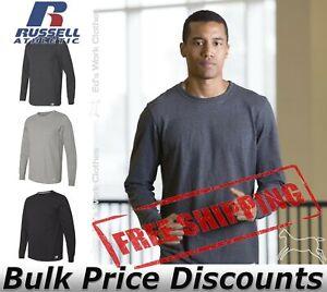 Russell Athletic Mens Essential 60/40 Performance Long Sleeve T-Shirt 64LTTM