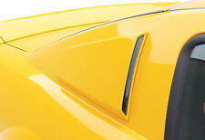 Fits 05-09 Mustang 3dCarbon Urethane Quarter Window Scoops Covers Pair 691018