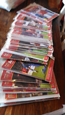 Complete set of Arsenal home programmes from the 2004/05 season