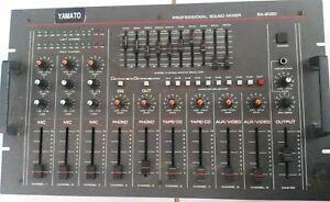 MESA DE MEZCLAS YAMATO PROFESSIONAL SOUND MIXER SA-2020