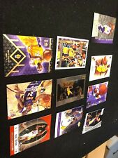 Kobe Bryant Basketball (10) Card Lot- Panini, Upper Deck & 1997 Topps #171