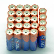 (100 Piece combo pack) 50 AA LR6+ 50 AAA LR03 1.5V Industrial Alkaline Battery