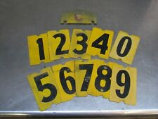 Bridge Plate Numbers M-Series Military Fits Willys M38 M38A1 M715 M37 M35 (W9)
