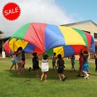 6 FT /2M Children Kids Play Rainbow Parachute Outdoor Game Exercise Sport New