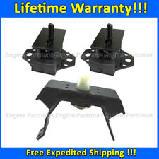 2021 Engine Motor&Trans Mount Set 3pcs for 1998-1999 Tacoma 3.4L 4WD MANUAL