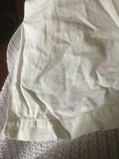 """Pre Owned Cannon Cavalier Percale 72"""" Wide Twin Bed Sheet 94"""" L for use Or CRAFT"""