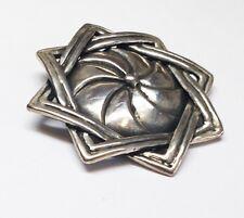 Armenian Star Symbol Eternity Silver Pendant