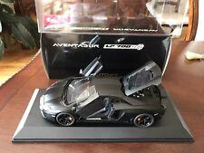 Autoart Lamborghini Aventador Matte Black 1:18