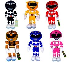 """Power Rangers Soft Toys 10"""" Plush Action Figures Official Licensed Toy Boys Kids"""