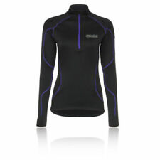 Abbigliamento sportivo da donna maglie a manica lunghi neri manica lunghi