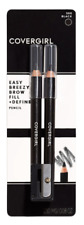 (1) Covergirl Easy Breezy Brow Fill + Define Pencils 500 Black
