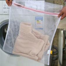 LARGE LAUNDRY/WASH NET BAG MESH TIGHTS BABY CLOTHES SOCKS WASHING MACHINE