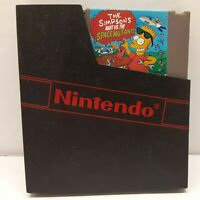 Nintendo NES The Simpsons: Bart vs. The Space Mutants *Authentic/Cleaned/Tested*